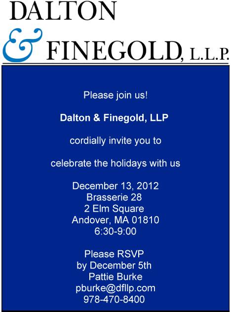 Dalton &; Finegold Andover Invite
