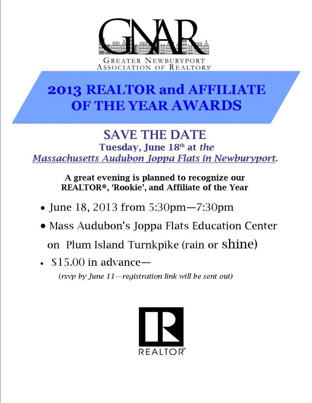 SAVE THE DATE ROTY 2013