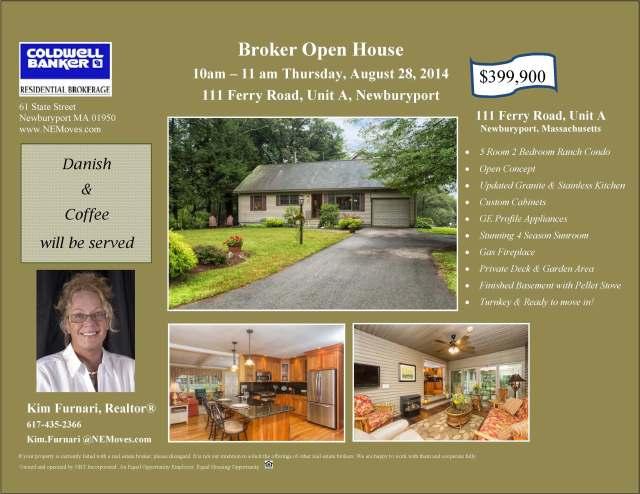 Broker Open House - Kim Ferry Road