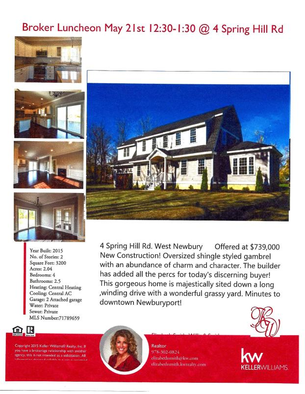4 Spring Hill Rd broker luncheon flyer May21
