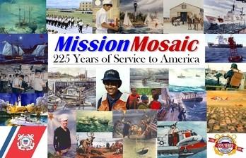 coast guard mission mosaic