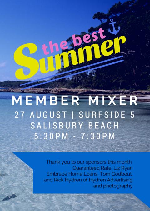 Member Mixer 082715