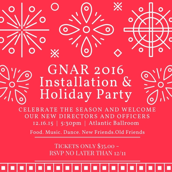 Installation and Holiday Party 2015