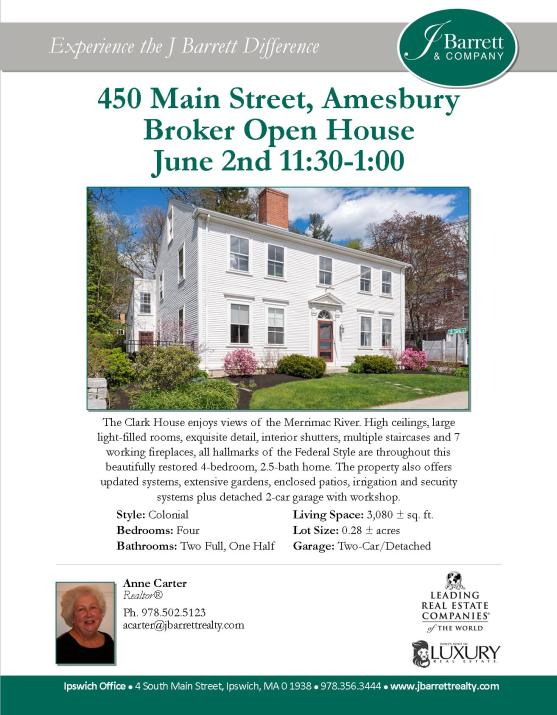 450 Main Street Amesbury Marketing Cover