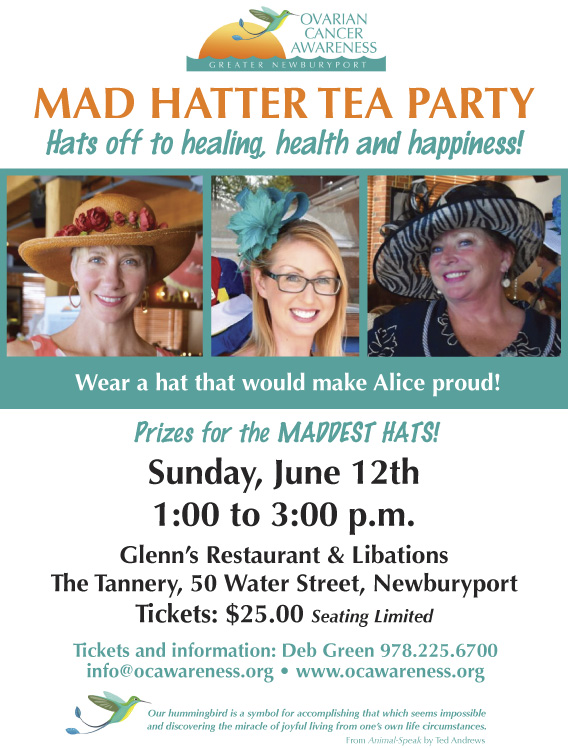 2016 MAD HATTER tea